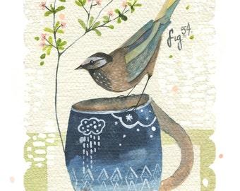 Green Tea Print