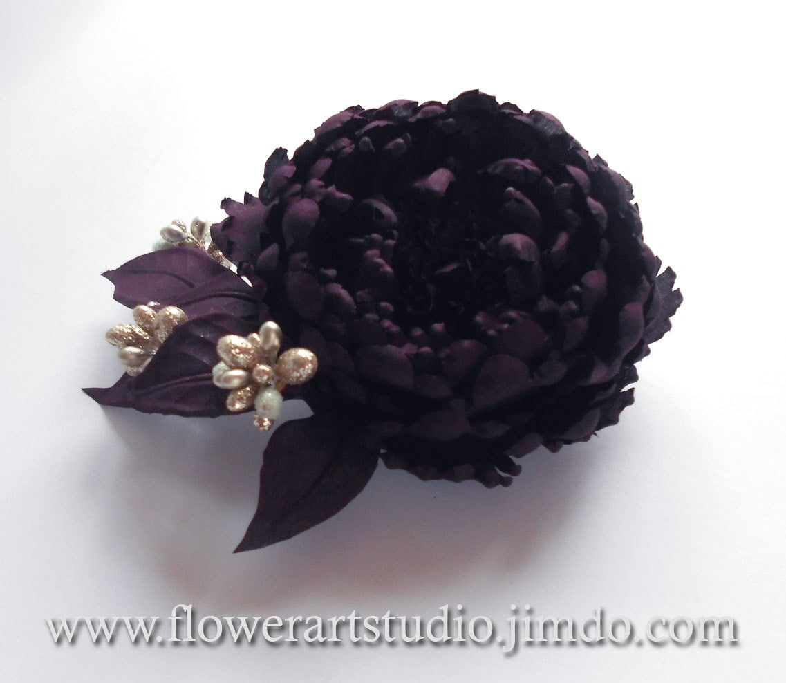 bazaar j enamel violet floral s queenie brooch double product vintage rose hollywood