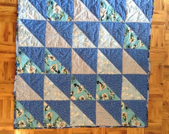 Dancing Hummingbirds Baby Quilt