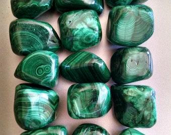 Malachite - Medium Chunky Tumbled