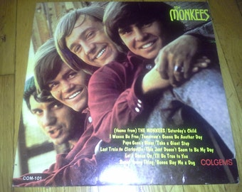 vintage 1966 the monkees lp