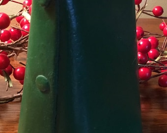 Large COWBELL Hand Riveted ~green~ BEST PRICED