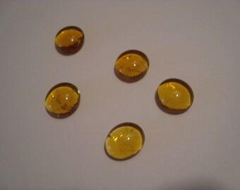 Set of 10 Topaz stones