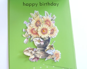 Birthday card, happy birthday card, friend birthday card, bday card, happy birthday grandma, happy bday card, greeting cards, birthday cards