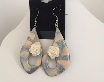 Handcrafted earring