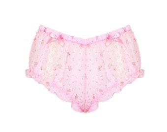 Pink Pixie Bloomers (Semi Sheer)