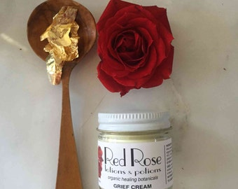 Grief Cream - Organic - Therapeutic-grade Oils - Helps Calm and Balance Your Body & Spirit
