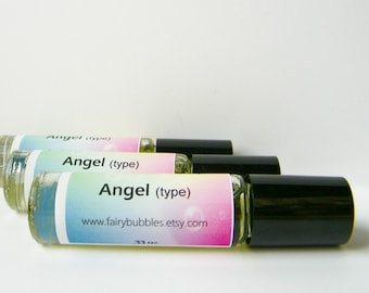 Angel Perfume, Fairy Scents Roll On Perfume, .33 ounce glass bottle