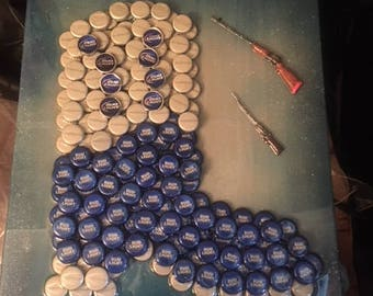 Bottle Cap Cowboy boot