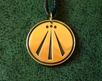 Awen, Celtic symbol of the Druids necklace