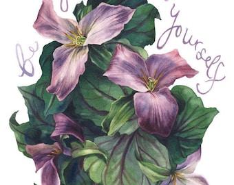 Fine Art Print of Original Watercolor Painting - Gentleness