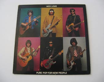 Nick Lowe - Pure Pop For Now People - Circa 1978