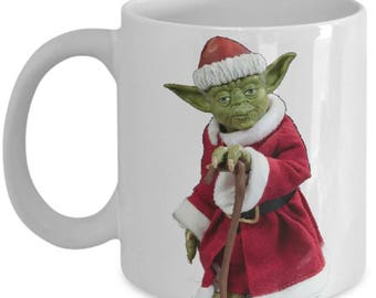 Star Wars Jedi Yoda Dressed As Santa