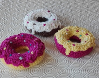 Donuts, pastries, crochet Cupcake