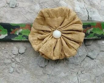Army baby headband