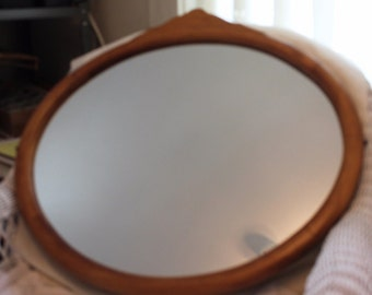 Home Decor- Beautiful Round Mirror with Early Frame