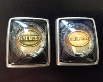 Jean Paul Gaultier clip earrings