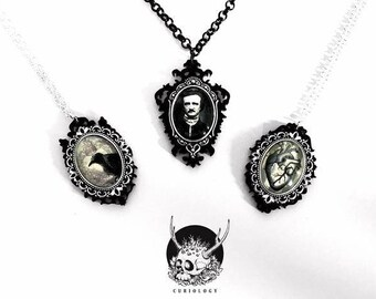 Little Horrors Cameo Necklaces