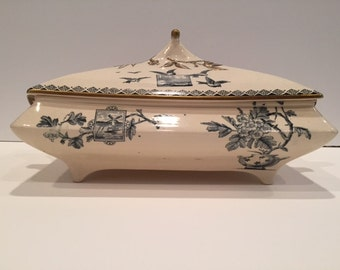 T. Till and Sons Covered Serving Dish, 1883