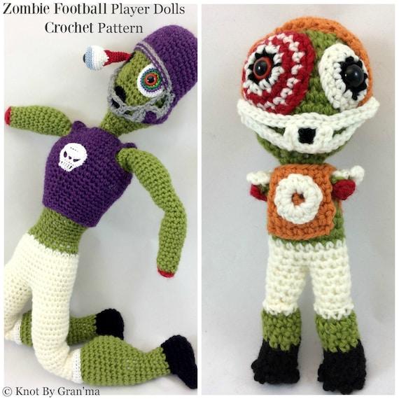 Zombie Crochet Pattern Zombie Pattern Amigurumi Pattern Crochet