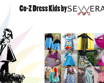 Co-Z Dress Kids Schnittmuster & Anleitung by Sewera
