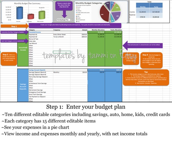 simple budget planning