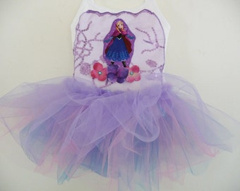 ANNA FROZEN TUTU - Frozen tutu - Frozen Dress-  Personalized - Anna and Elsa Birthday Party -
