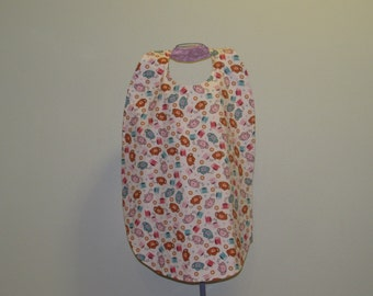 Large Adult Clothing Protector Bib  ( # 475 )