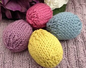 Easter Eggs - DIY Knitting Pattern
