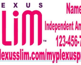 12X24 Plexus Slim Vinyl Car Decal