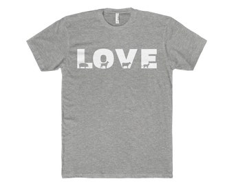 MenS Love Cotton Crew Tee
