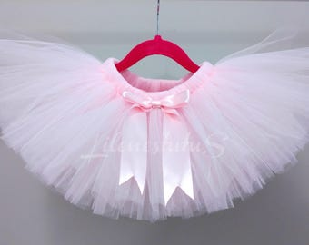 Light Pink Tutus / Baby Pink Tutus - tutu skirt - birthday - photography - occasions - toddlers - kids tutu