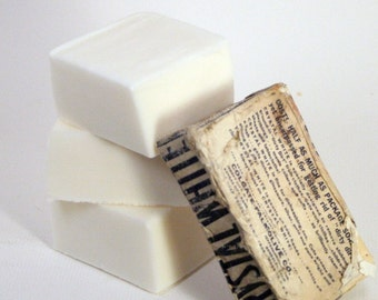 Cocoa Butter Soap Snow Cat VEGAN Large Bar - Bestseller!