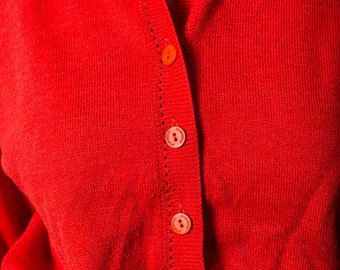 The Vintage Pastelton Red Sweater