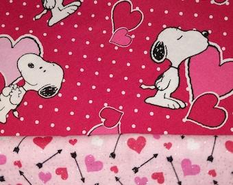 Snoopy Valentine's Pillowcase Romper