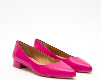 Ballerinas pink, pink flats