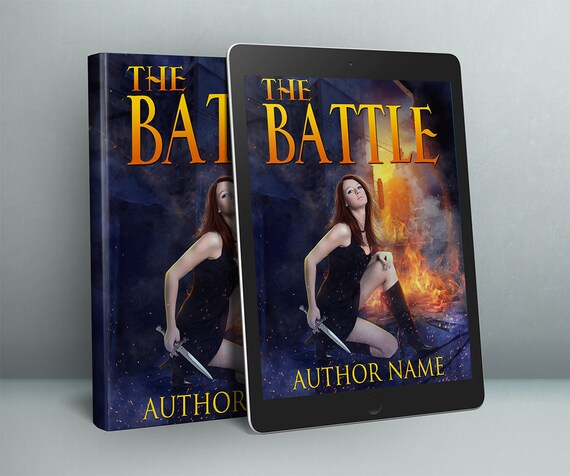 dystopian woman Urban fantasy cover design premade book cover art