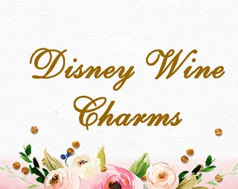 Disney Wine Charms Section Marker