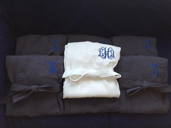 Bridesmaids for of Monogrammed Perfect Gifts Bathrobes Set 7 zRB1qqY