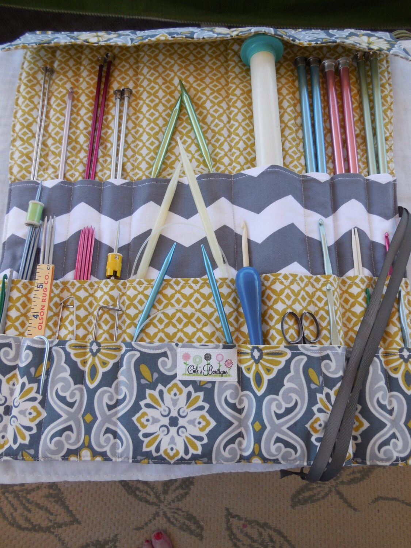 PDF Sewing Pattern/Instructions Only – Knitting/Crochet Needle ...