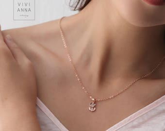 Personalized Gold anchor Chain PN002