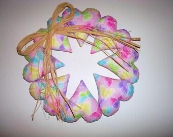 Butterfly Wreath - Children's Home Decor - Handmade