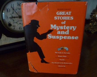 Great Stories of Mystery and Suspense, Readers Digest  Volume 1, 1977, Halloween Decor