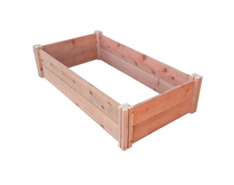 GroGardens 2' x 4' x 11 Redwood Raised Garden Bed (FREE SHIPPING)