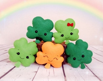 Shamrock Ornament St Patricks Day Baby Shower Favours Irish Gifts For Children Four Leaf Clover Lucky Charm Irish Wedding Party Decorations