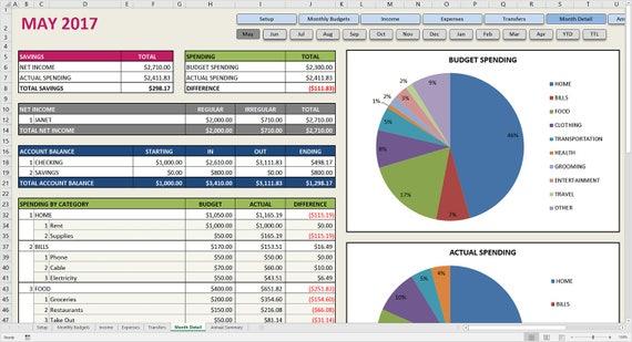 Ziemlich Monatliche Planervorlage Excel Ideen ...
