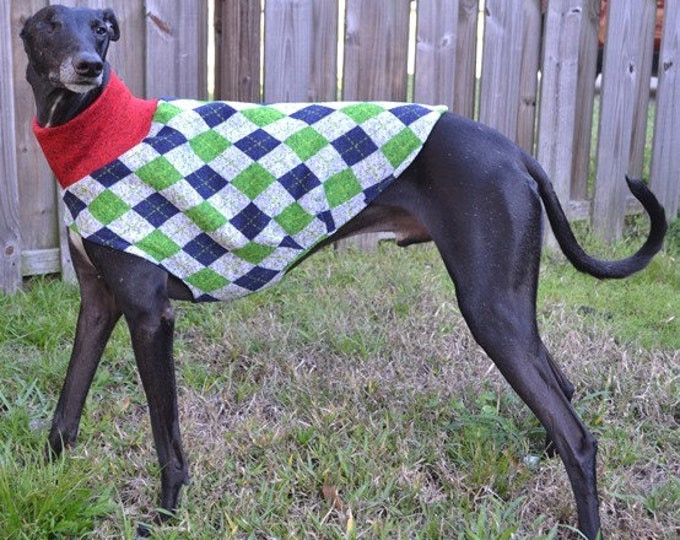 """Whippet Sweater. """"Uncle Hairy's Stinky Sweater"""" - Whippet Sizes"""