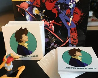 Cowboy Bebop - Spike stickers 2.5x 2.5