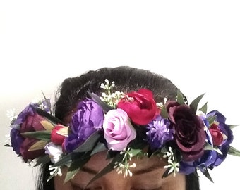 I love.. Imperial purple flower crown