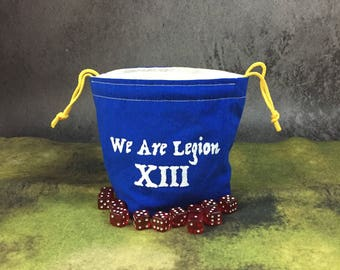 We Are Legion XIII Dice Bag